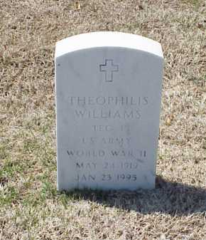 WILLIAMS (VETERAN WWII), THEOPHILIS - Pulaski County, Arkansas | THEOPHILIS WILLIAMS (VETERAN WWII) - Arkansas Gravestone Photos