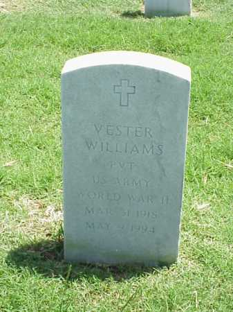 WILLIAMS (VETERAN WWII), VESTER - Pulaski County, Arkansas | VESTER WILLIAMS (VETERAN WWII) - Arkansas Gravestone Photos