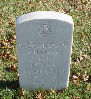 WILLIAMS (VETERAN WWII), WOODROW W - Pulaski County, Arkansas | WOODROW W WILLIAMS (VETERAN WWII) - Arkansas Gravestone Photos