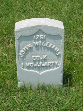 WILLIAMS (VETERAN UNION), JOHN - Pulaski County, Arkansas | JOHN WILLIAMS (VETERAN UNION) - Arkansas Gravestone Photos