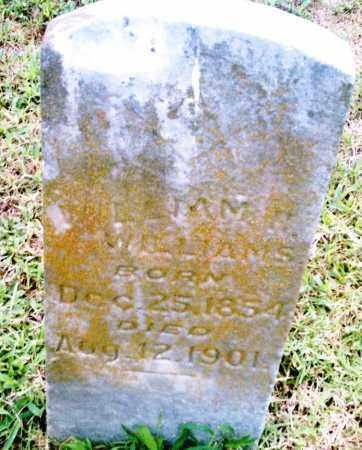 WILLIAMS, WIILLIAM H. - Pulaski County, Arkansas | WIILLIAM H. WILLIAMS - Arkansas Gravestone Photos