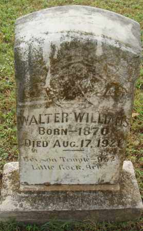 WILLIAMS, WALTER - Pulaski County, Arkansas | WALTER WILLIAMS - Arkansas Gravestone Photos