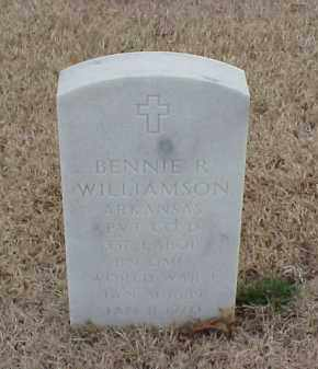 WILLIAMSON  (VETERAN WWI), BENNIE R - Pulaski County, Arkansas | BENNIE R WILLIAMSON  (VETERAN WWI) - Arkansas Gravestone Photos