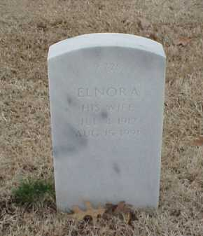 WILLIAMSON, ELNORA - Pulaski County, Arkansas | ELNORA WILLIAMSON - Arkansas Gravestone Photos
