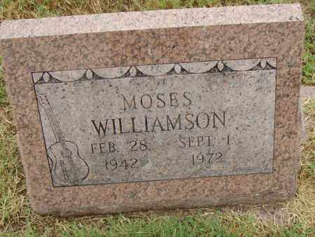WILLIAMSON, MOSES - Pulaski County, Arkansas | MOSES WILLIAMSON - Arkansas Gravestone Photos