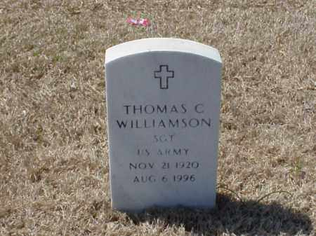 WILLIAMSON, THOMAS C. - Pulaski County, Arkansas | THOMAS C. WILLIAMSON - Arkansas Gravestone Photos