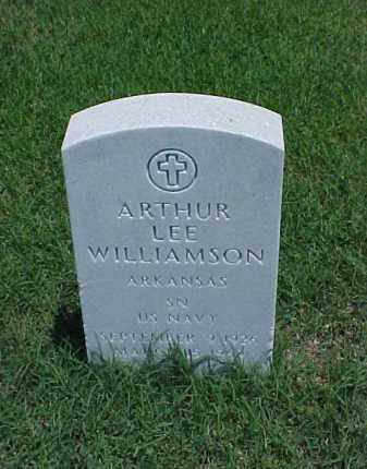 WILLIAMSON (VETERAN KOR), ARTHUR LEE - Pulaski County, Arkansas | ARTHUR LEE WILLIAMSON (VETERAN KOR) - Arkansas Gravestone Photos