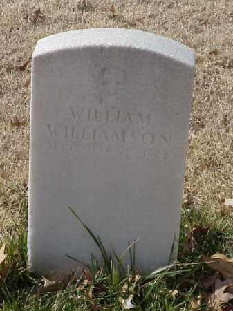 WILLIAMSON (VETERAN UNION), WILLIAM - Pulaski County, Arkansas | WILLIAM WILLIAMSON (VETERAN UNION) - Arkansas Gravestone Photos