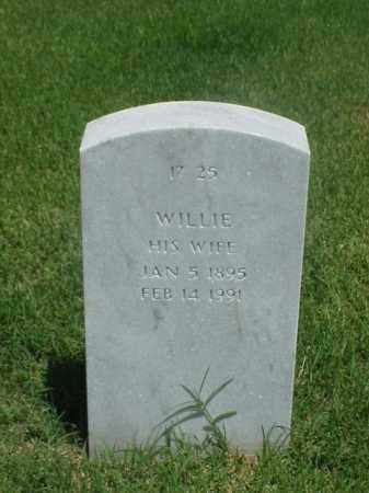 WILLIAMSON, WILIE - Pulaski County, Arkansas | WILIE WILLIAMSON - Arkansas Gravestone Photos