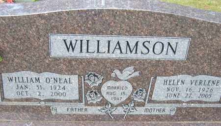 WILLIAMSON, WILLIAM O'NEAL - Pulaski County, Arkansas | WILLIAM O'NEAL WILLIAMSON - Arkansas Gravestone Photos