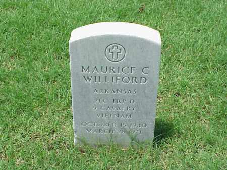 WILLIFORD (VETERAN VIET), MAURICE C - Pulaski County, Arkansas | MAURICE C WILLIFORD (VETERAN VIET) - Arkansas Gravestone Photos