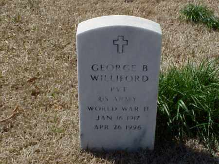 WILLIFORD (VETERAN WWII), GEORGE B - Pulaski County, Arkansas | GEORGE B WILLIFORD (VETERAN WWII) - Arkansas Gravestone Photos