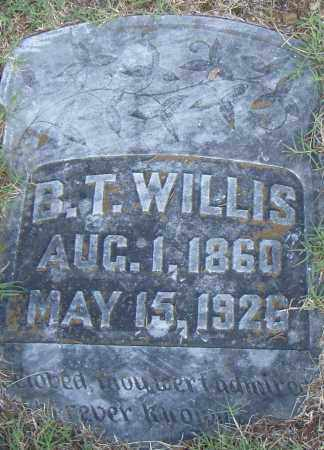 WILLIS, B. T. - Pulaski County, Arkansas | B. T. WILLIS - Arkansas Gravestone Photos