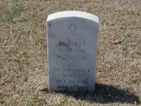 WILLIS, SR (VETERAN KOR), EMMETT MARION - Pulaski County, Arkansas | EMMETT MARION WILLIS, SR (VETERAN KOR) - Arkansas Gravestone Photos