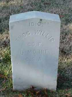 WILLIS (VETERAN CSA), THOMAS - Pulaski County, Arkansas | THOMAS WILLIS (VETERAN CSA) - Arkansas Gravestone Photos