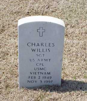 WILLIS (VETERAN VIET), CHARLES - Pulaski County, Arkansas | CHARLES WILLIS (VETERAN VIET) - Arkansas Gravestone Photos