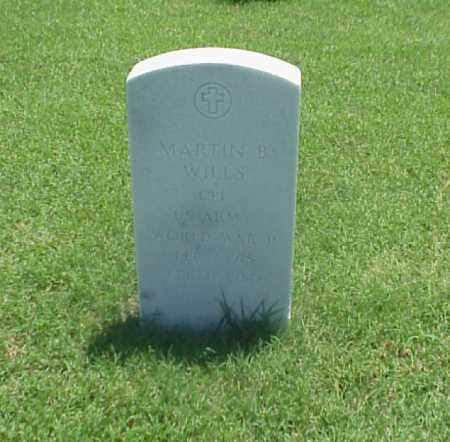 WILLS (VETERAN WWII), MARTIN B - Pulaski County, Arkansas | MARTIN B WILLS (VETERAN WWII) - Arkansas Gravestone Photos