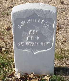 WILLSON (VETERAN UNION), G W - Pulaski County, Arkansas | G W WILLSON (VETERAN UNION) - Arkansas Gravestone Photos