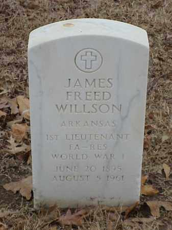WILLSON (VETERAN WWI), JAMES FREED - Pulaski County, Arkansas | JAMES FREED WILLSON (VETERAN WWI) - Arkansas Gravestone Photos