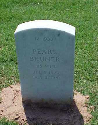 BRUNER WILSON, PEARL - Pulaski County, Arkansas | PEARL BRUNER WILSON - Arkansas Gravestone Photos