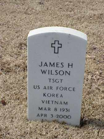 WILSON  (VETERAN 2 WARS), JAMES H - Pulaski County, Arkansas | JAMES H WILSON  (VETERAN 2 WARS) - Arkansas Gravestone Photos