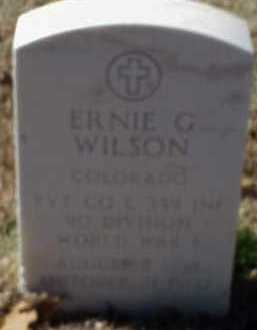 WILSON  (VETERAN WWI), ERNIT G - Pulaski County, Arkansas | ERNIT G WILSON  (VETERAN WWI) - Arkansas Gravestone Photos