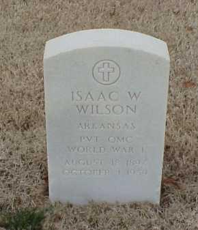 WILSON  (VETERAN WWI), ISAAC W - Pulaski County, Arkansas | ISAAC W WILSON  (VETERAN WWI) - Arkansas Gravestone Photos