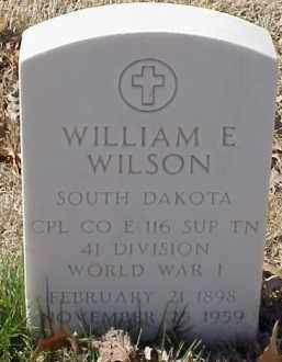 WILSON  (VETERAN WWI), WILLIAM E - Pulaski County, Arkansas | WILLIAM E WILSON  (VETERAN WWI) - Arkansas Gravestone Photos