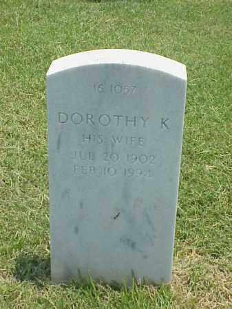 WILSON, DOROTHY K - Pulaski County, Arkansas | DOROTHY K WILSON - Arkansas Gravestone Photos