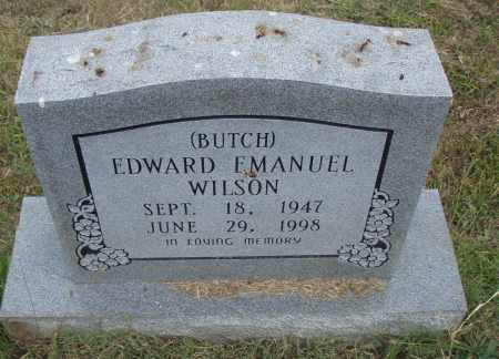 "WILSON, EDWARD EMANUEL ""BUTCH"" - Pulaski County, Arkansas 