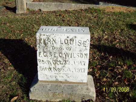 WILSON, FERN LOUISE - Pulaski County, Arkansas | FERN LOUISE WILSON - Arkansas Gravestone Photos