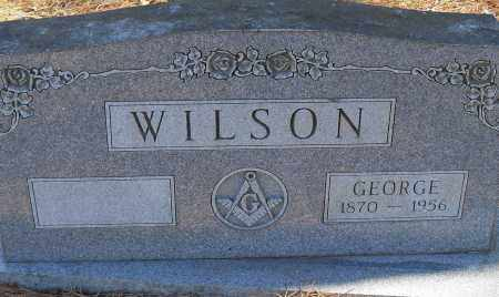 WILSON, GEORGE - Pulaski County, Arkansas | GEORGE WILSON - Arkansas Gravestone Photos