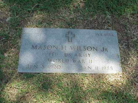 WILSON, JR (VETERAN WWII), MASON H - Pulaski County, Arkansas | MASON H WILSON, JR (VETERAN WWII) - Arkansas Gravestone Photos