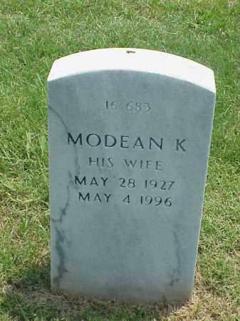 WILSON, MODEAN K - Pulaski County, Arkansas | MODEAN K WILSON - Arkansas Gravestone Photos