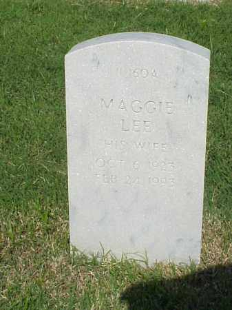 WILSON, MAGGIE LEE - Pulaski County, Arkansas | MAGGIE LEE WILSON - Arkansas Gravestone Photos