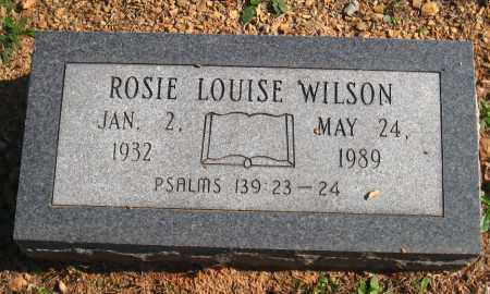 WILSON, ROSIE LOUISE - Pulaski County, Arkansas | ROSIE LOUISE WILSON - Arkansas Gravestone Photos