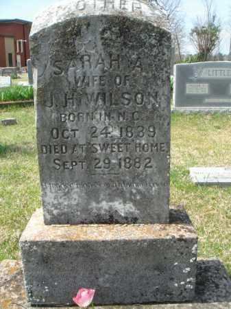 TARPLEY WILSON, SARAH ANN - Pulaski County, Arkansas | SARAH ANN TARPLEY WILSON - Arkansas Gravestone Photos