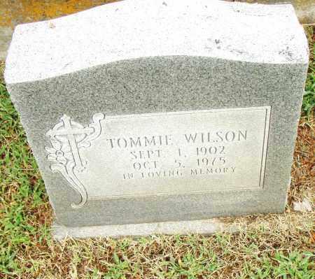 WILSON, TOMMIE - Pulaski County, Arkansas | TOMMIE WILSON - Arkansas Gravestone Photos
