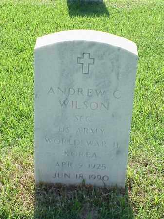 WILSON (VETERAN 2 WARS), ANDREW C - Pulaski County, Arkansas | ANDREW C WILSON (VETERAN 2 WARS) - Arkansas Gravestone Photos