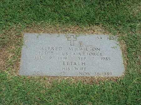 WILSON, ETTA H - Pulaski County, Arkansas | ETTA H WILSON - Arkansas Gravestone Photos