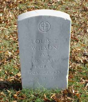 WILSON (VETERAN KOR), LOUIS T - Pulaski County, Arkansas | LOUIS T WILSON (VETERAN KOR) - Arkansas Gravestone Photos