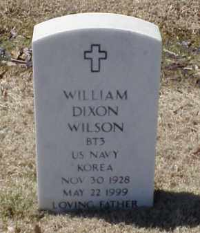 WILSON (VETERAN KOR), WILLIAM DIXON - Pulaski County, Arkansas | WILLIAM DIXON WILSON (VETERAN KOR) - Arkansas Gravestone Photos