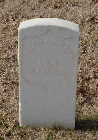 WILSON (VETERAN UNION), ALLEN K - Pulaski County, Arkansas | ALLEN K WILSON (VETERAN UNION) - Arkansas Gravestone Photos