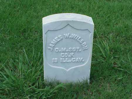WILSON (VETERAN UNION), JAMES W - Pulaski County, Arkansas | JAMES W WILSON (VETERAN UNION) - Arkansas Gravestone Photos