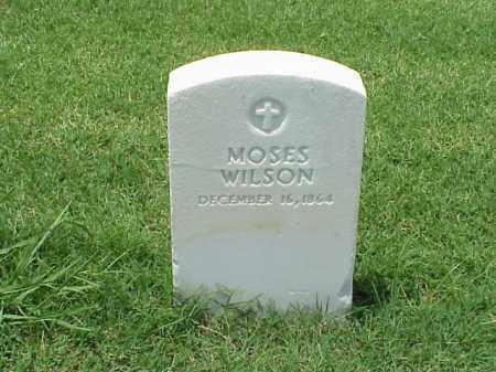 WILSON, MOSES - Pulaski County, Arkansas | MOSES WILSON - Arkansas Gravestone Photos
