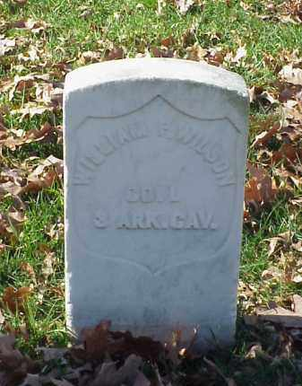WILSON (VETERAN UNION), WILLIAM F - Pulaski County, Arkansas | WILLIAM F WILSON (VETERAN UNION) - Arkansas Gravestone Photos