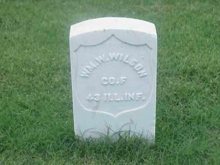 WILSON (VETERAN UNION), WILLIAM W - Pulaski County, Arkansas | WILLIAM W WILSON (VETERAN UNION) - Arkansas Gravestone Photos