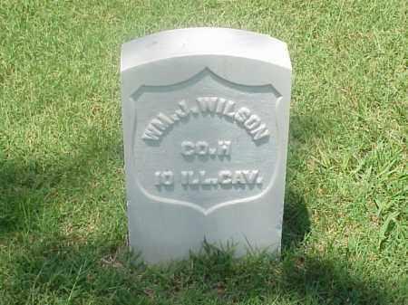 WILSON (VETERAN UNION), WILLIAM J - Pulaski County, Arkansas | WILLIAM J WILSON (VETERAN UNION) - Arkansas Gravestone Photos