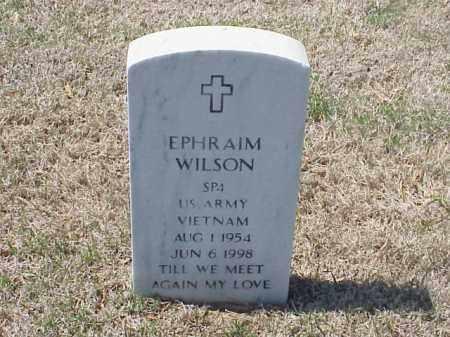 WILSON (VETERAN VIET), EPHRAIM - Pulaski County, Arkansas | EPHRAIM WILSON (VETERAN VIET) - Arkansas Gravestone Photos