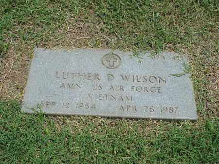 WILSON (VETERAN VIET), LUTHER D - Pulaski County, Arkansas | LUTHER D WILSON (VETERAN VIET) - Arkansas Gravestone Photos